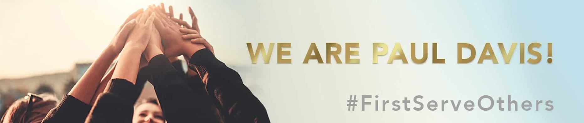 we are paul davis banner