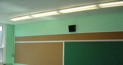 restored green classroom