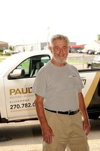 Vic Billhartz, Water Technician