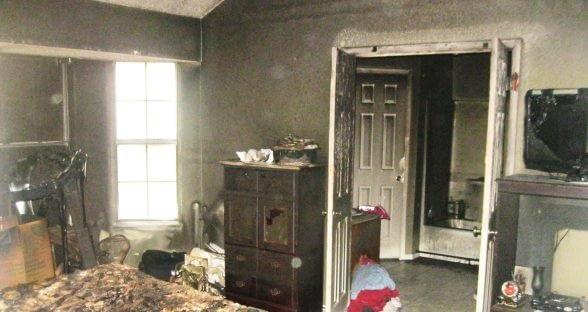 Master bedroom repair