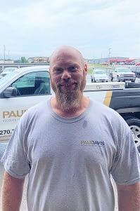 Matt Hopkins, Water Technician