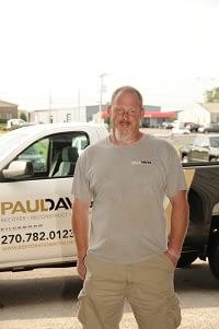 Billy Goley, Water Technician