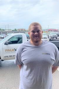 Bradley Bottom, Water Technician